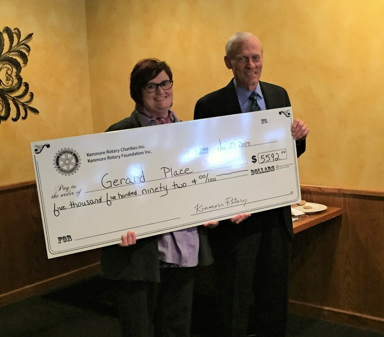 Grant Award From The Kenmore Rotary Foundation